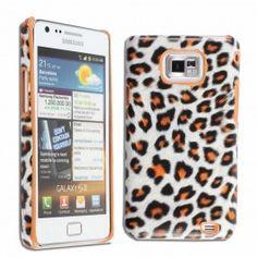 GRATIS Samsung Galaxy S2 Panterprint Hard Case - Oranje (t.w.v. €14,95) - Hoesjes - Samsung Galaxy S2 - Telefoon Accessoires