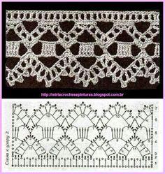 Crochet Lace Edging DMC, points