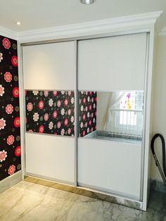 Luxury sliding door wardrobe at Apartment Permata Hijau Jakarta Indonesia