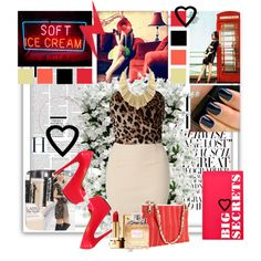 caught in a bad romance, created by angrybird on Polyvore