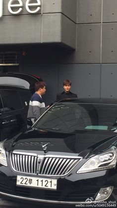 Lee Min Ho leaving salon to attend 2016-2018 Visit Korea Year Proclamation Ceremony,  20151106.