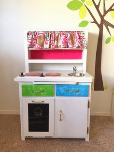 CraftShack: Play Kitchen Makeover