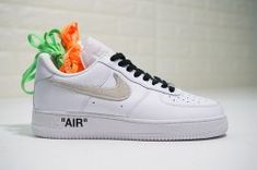 Nike Air Force 1 '07 Premium JDI Just Do It Pack White Black Total Orange AR7719 100 Women's Men's Casual Shoes Sneakers AR7719 100A