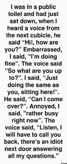Cubicle conversation