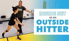 Dealing with the inside set as an outside hitter