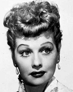 The beautiful and revolutionary Lucille Ball. Inspired many a childhood shenanigans.
