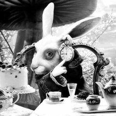 Alice in Wonderland / karen cox. White Rabbit, Alice in Wonderland Lewis Carroll, Tim Burton, Alicia Wonderland, Adventures In Wonderland, Foto Fantasy, Alice In Wonderland Characters, Chesire Cat, Alice Madness, White Rabbits
