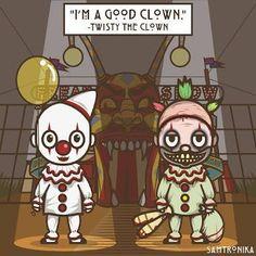 american horror story clown art - Google Search
