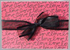 Valentine card, Unisex Valentine, Just a love note Valentine by 19Designs on Etsy