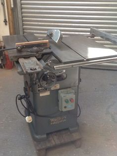 Wadkin Saw Bench ,panel Saw Rip Saw,cross Cut Saw Mitre Saw 240 Volt Saw Bench