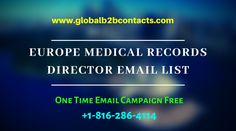 Medical Records Director Email List is giving marketers the possibility to go with multi-channel communication to achieve the brand visibility and market presence. Usa Doctor, Confidence Level, Direct Marketing, Email Campaign, Market Research, Email List, Company Names, Health Care