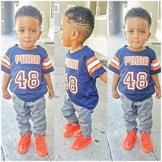 Quality and Affordable T-Shirts For Boys Black Boys Haircuts, Toddler Haircuts, Little Boy Haircuts, Little Boy Fashion, Baby Boy Fashion, Kids Fashion, Baby Boy Hairstyles, Cute Hairstyles For Kids, Baby Boy Swag