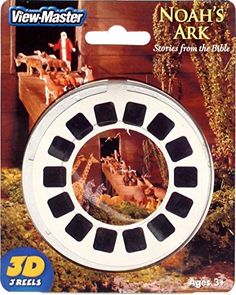 View Master Noah's Ark Viewmaster 3 Reel Set, 2015 Amazon Top Rated Viewfinders #Toy