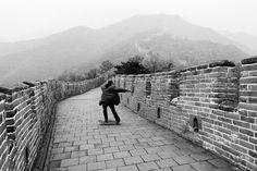 Gallery: Skateboarding in China - Articles - Boardworld Guangzhou, Shenzhen, Beijing, Shanghai, Skate And Destroy, Skateboarding, Railroad Tracks, Articles, China