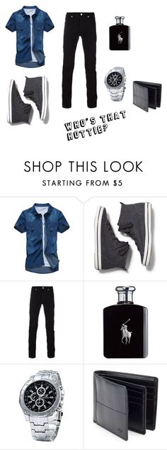 """""""Who's that Hottie?"""" by panda-girl01 on Polyvore featuring Keds, Versace, Ralph Lauren and Dockers"""
