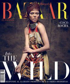 Hola! Coco Rocha's Wild Harper's Bazaar En Español Cover