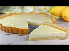 Ricotta, No Bake Desserts, Dessert Recipes, Sweet Pie, Healthy Cake, Homemade Vanilla, Breakfast Dessert, Baked Goods, Sweet Treats