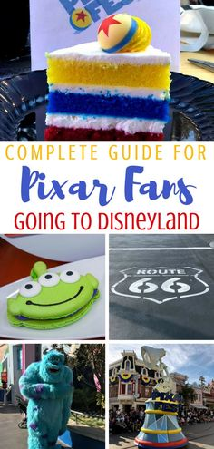 The Complete Guide to Pixar at Disneyland. Pixar Fest, Pixar Pier, Pixar characters, Pixar food- OH MY! #Disneyland #PixarFest #PixarPier #Disney