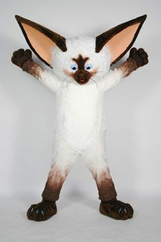 Skippyjon Jones Mascot Character Costume is provided free of charge by the publishers for promotional use only at schools, libraries and bookstores. The only cost to you is second-day air shipping arranged by Costume Specialists to send the costume to its next event.