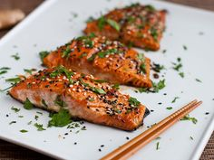 Sweet & spicy, honey and wasabi #salmon: http://www.floridaseafood.com/scottish-salmon-starting-with-3-5-lbs/