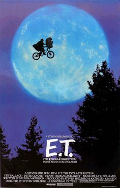 E.T. The first movie I fell in love with.