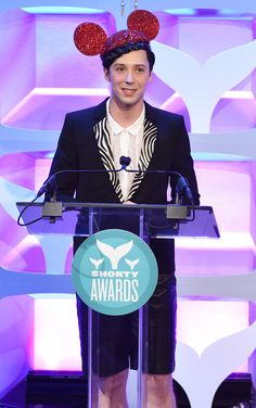 Photos: Johnny Weir at the 7th Annual Shorty Awards | Official Johnny Weir Website