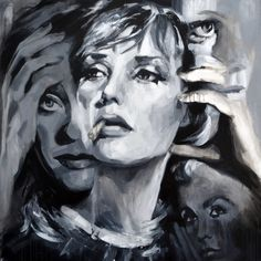 View She's Nobody's Fool by Sal Jones. Browse more art for sale at great prices. New art added daily. Buy original art direct from international artists. Shop now