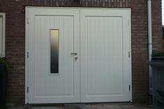 """www.houten-garagedeur.nl, bijv. model """"Buurse"""""""