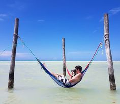 Even photographers need a holiday.  _  Chillin today on Isla Holbox in Mexico.  _  Living up to my high expectations - absolutely stunning! Thanks to Erin for taking this shot of me with my Samsung Galaxy S7.  _  #amazingplacestovisit  #beachesnresorts