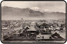 Colorado Springs Colorado ~ 1902- so cool.  3 of my kiddies were born here!  Loved it!!