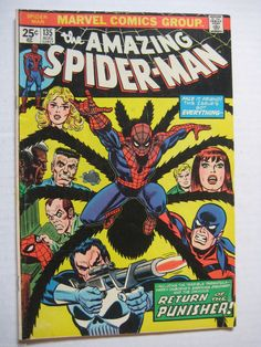 2 Vintage Old Collectible Marvel Comic Books Amazing Spiderman 133 FN 135 FN | eBay