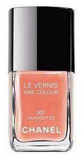 Chanel Orange Fizz nail polish