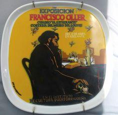 Puerto Rico Los grandes carteles Plato no.4 Antonio Martorell Colección No.267 Año 1983
