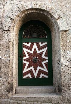 Door to Brewery in #Salzburg, Austria  one of my FAVORITE doors!!!  = )