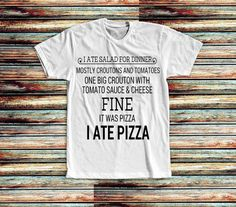 New and Exclusive Shirt  fineitwaspizza by trendythreadsapparel