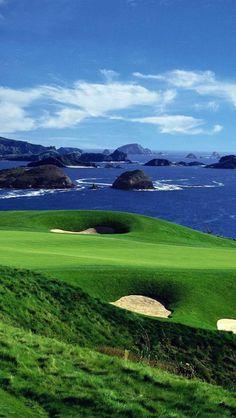Kauri Cliffs Golf Course, North Island New Zealand