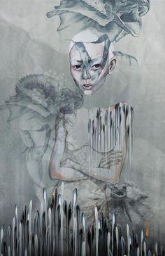 Cherrilee - prints in the making//Version 2 Studio 11:05 13.05.13