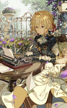 Violet Evergarden: the most beautifull anime i've ever seen Manga Anime, Film Anime, Me Anime, Anime Kawaii, Manga Girl, Anime Love, Anime Art, Chibi, Violet Evergarden Wallpaper