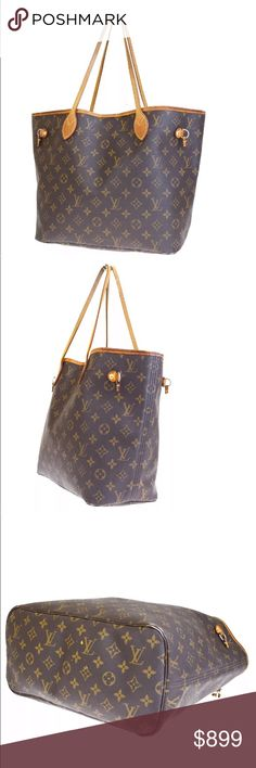 fa3e677ff7b9 Authentic Louis Vuitton Neverfull MM Authentic Louis Vuitton Classic  Monogram Neverfull MM Condition  exactly as the pictures Louis Vuitton Bags  Shoulder ...