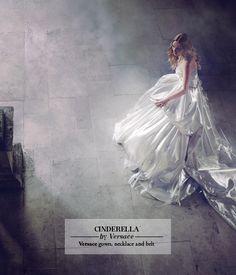 Harrods' modern Disney Princesses - Cinderella by Versace