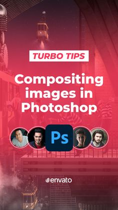 In this episode of #TurboTips, YouTube creators #PiXimperfect @bennyproductions @sekulicnemanja and #ImadAwan bring you their expert tips on Compositing Images in #Photoshop. Ready to learn from the best?