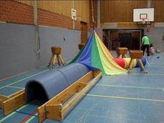 Kinderturnen Tunnel, Schwungtuch