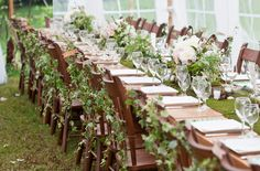 I love this! Starting to really think about wedding ideas and I know this is the theme that I want - an enchanted forest! Table looks amazing!