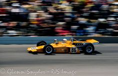 Peter Revson 1971 Indy 500 McLaren M-16A