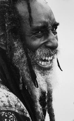 Side Profile of Rastafarian Singer - Trafalgar Square by Catherine Chapman, via Flickr