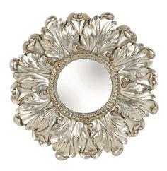 Lila Floral Mirror