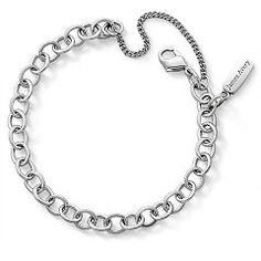 Forged Link Charm Bracelet at James Avery