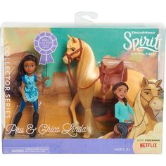 Spirit Riding Free Collector's Series Doll & Horse Set - Pru and Chica Linda Image 2 of 2