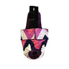 Dog Diaper Overall - Made in USA - Pink and Blue Chevron Minky Escape-Proof Washable Dog Diaper Overall for Dog Incontinence, Marking, Housetraining and Females in Heat * You can get additional details at the image link. (This is an affiliate link and I receive a commission for the sales) #MyCat
