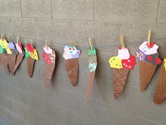 Ice Cream Cones!  Yummy idea. :D
